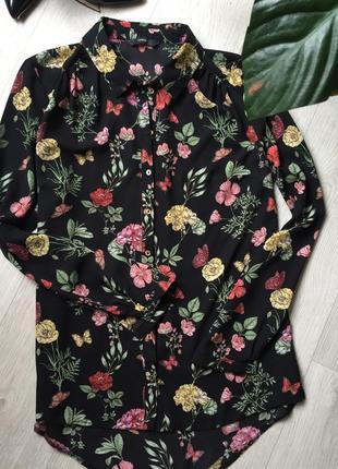 Шикарная блуза цветочный принт🌸3