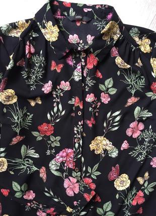 Шикарная блуза цветочный принт🌸4
