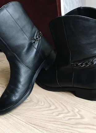 Ботиночки натуральная кожа italy1