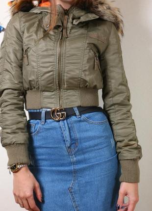 Красива укорочена куртка2