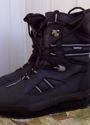 Утепленные антискользящие треккинговые ботинки tentex 391