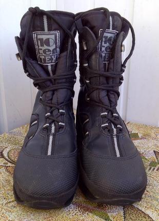 Утепленные антискользящие треккинговые ботинки tentex 393