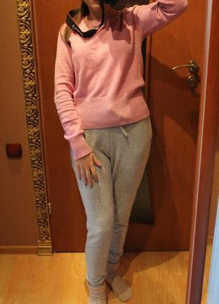 Пуловер свитер джемпер шерстяной теплый