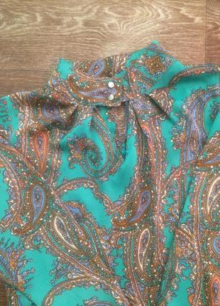 Блуза шовк шёлк размер 36-38