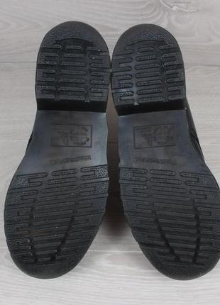 Кожаные черные ботинки dr.martens оригинал, размер 384