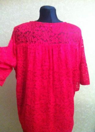 Шикарна блуза більшого розміру2