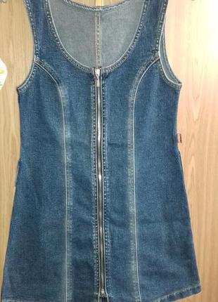Сарафан на рост 128-  134 см gloria jeans