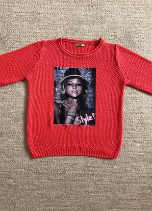 Женский свитер, жіночий светр, кофта olko1