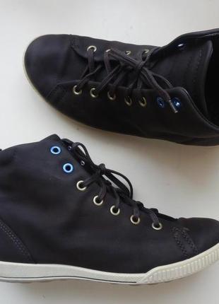 Кожаные деми ботинки ecco 36р 23,5см1