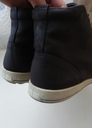 Кожаные деми ботинки ecco 36р 23,5см3