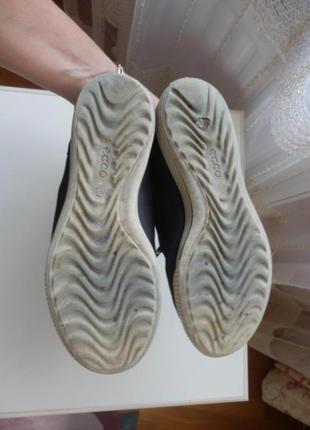 Кожаные деми ботинки ecco 36р 23,5см5