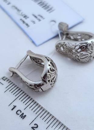 Серьги серебро 925 проба2