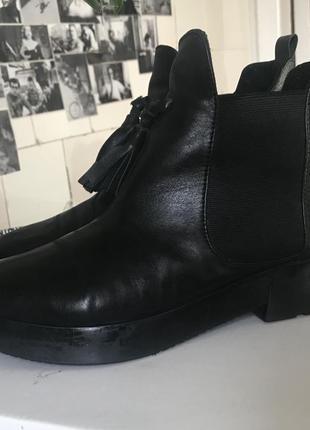 Челси ботинки emmelie delage кожа3