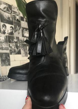 Челси ботинки emmelie delage кожа1