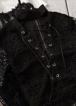 Кружевная блуза4