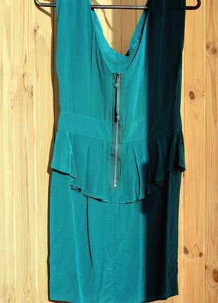 Шёлковое коктейльное платье/ натуральний шовк коктейльна сукня3