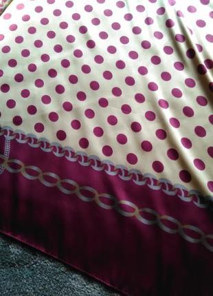 Шикарнейший большой шёлковый платок3