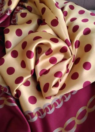 Шикарнейший большой шёлковый платок4