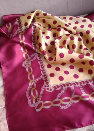 Шикарнейший большой шёлковый платок5