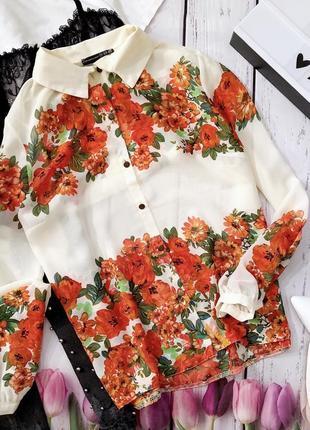 Цветочная блуза2