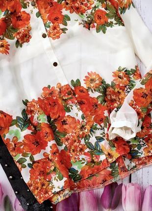 Цветочная блуза3