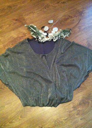 Модненька блуза більшого розміру