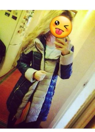 Зимний теплый пуховик2
