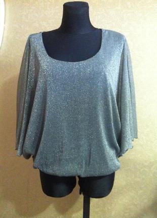 Модненька блуза більшого розміру2