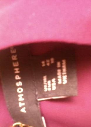 Шифоновая блузка 14р бордо !!! atmosphere2