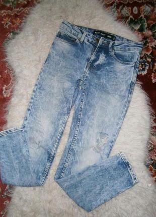 Стильные джинсы узкачи2