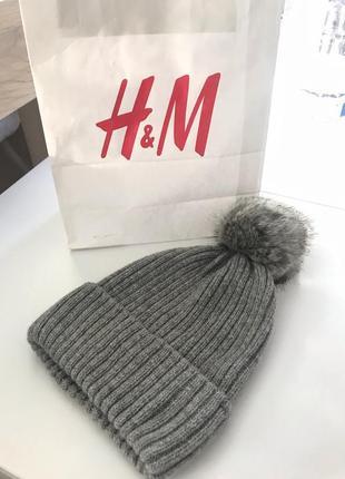 Женская шапка h&m новая1