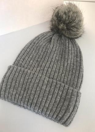 Женская шапка h&m новая3