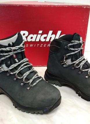 Туристические трекинговые женские ботинки raichle (mammut) гортекс 38р стелька 24см3