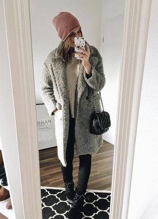 Шерстяное пальто от zara2