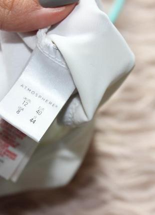 Шикарный вер от купальника бюстик бра белый ракушки принт 12 л3