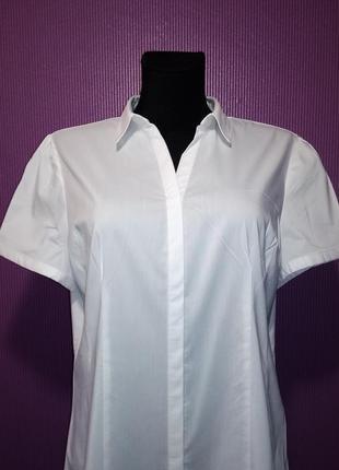 Новая белоснежная блузка- рубашка, от бренда primark.3