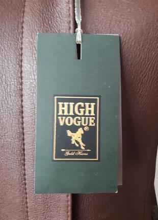 Супер модная, теплая, дубленка с мехом внутри и съемным капюшоном. high vogue4