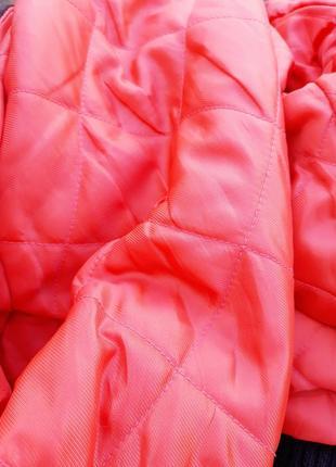 Шерстяной бомбер в клетку теплая куртка с мехом5