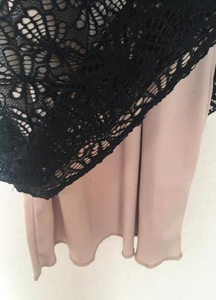 Платье с гипюром4