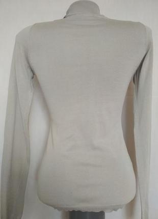 Vip люкс бренд гольф свитерок из натурального шелка,р.362