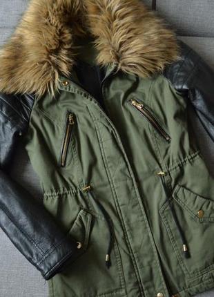 Куртка парка демисезон1