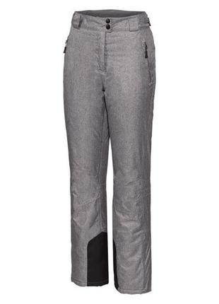 Женские лыжные штаны crivit® ветрозащитная и водонепроницаемая система. 42 евро2