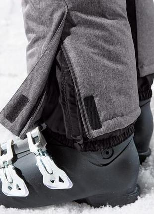 Женские лыжные штаны crivit® ветрозащитная и водонепроницаемая система. 42 евро4