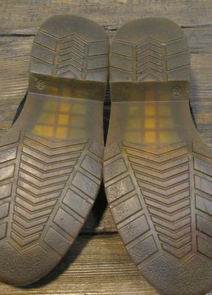Туфли лофферы черные, 38 (25 см), кожаные, отл сост!4