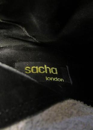 Сапожки sacha, 38 (24.5), brazil, нужен ремонт набойки, уценка!4