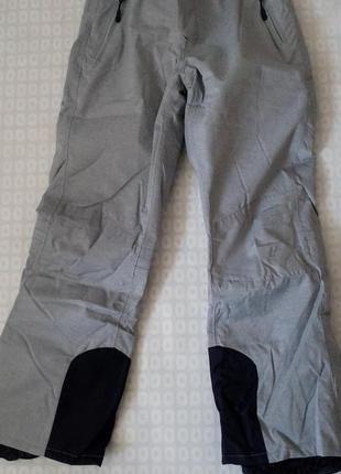 Женские лыжные штаны crivit® ветрозащитная и водонепроницаемая система. 42 евро5