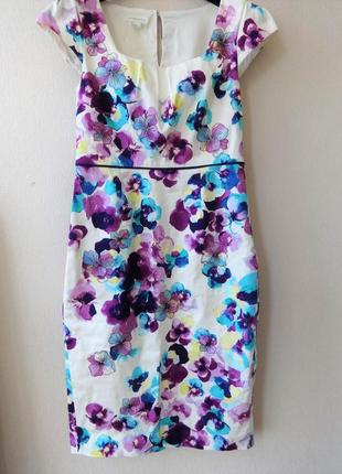 Платье коттон monsoon 12-14 uk