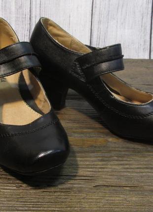 Туфли manfield, 36 (23.5 см), кожзам, отл сост!