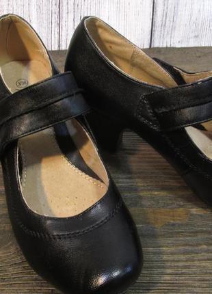 Туфли manfield, 36 (23.5 см), кожзам, отл сост!2