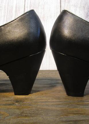 Туфли manfield, 36 (23.5 см), кожзам, отл сост!5